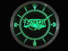 Philadelphia Eagles Neon Sign LED Wall Clock - Best Funny Store