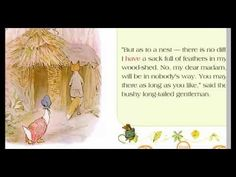 story for kids - gemima puddle duck- story Reading Stories, Stories For Kids, Story Time, Stories For Children