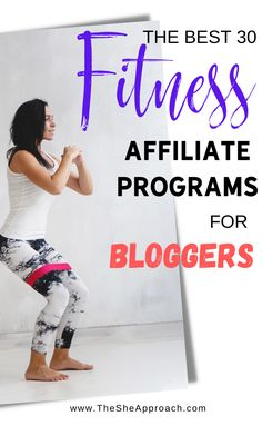 I know you have a passion for helping your audience stay fit and healthy - and so do these brands. But if you're going to talk about them and recommend them, you might as well get paid. And that's why these exercise affiliate programs are the best fitness affiliate programs for bloggers & fitness influencers and perfect place to start and turn your fitness blog into a profitable online business!Make money blogging as a fitness influencer with affiliate marketing. Content Marketing, Affiliate Marketing, Internet Marketing, Marketing Program, Marketing Tools, Business Tips, Online Business, Wellness Fitness, Make Money Blogging