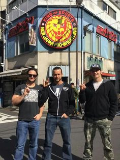 Adam Cole and the Young Bucks