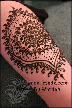 henna. ~ Again, I'd want this in regular ink!!! Love the design!!!
