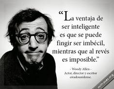 frases y libros de Woody Allen Actor, director y escritor estadounidense.