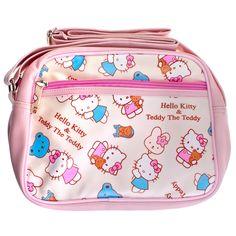 Hello Kitty   Teddy Cross Body Bag - White  hellokitty  hellokittyuk   kawaii   d241170e24884