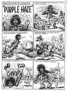 Improve your drawing ability by robert crumb art room handouts purple haze by robert crumb planche une fandeluxe Choice Image