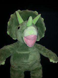 f8516f74f9d Green Triceratops Dinosaur Plush Build a Bear Stuffed 17