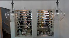 #Custom #wineracks  #basementremodel #remodel #remodeling #cle #after #designbuild #basementideas #bar