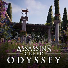 On Assassin's Creed Odyssey, I had the pleasure to work on vegetation in close collaboration with Caroline Couture. Assassins Creed Origins, Assassins Creed Odyssey, Greek Culture, Inspirational Artwork, Assassin's Creed, Rome, Environment, Period, 3d