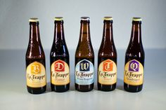 """Alla Spina is doing a """"Trappe Takeover"""" tonight with La Trappe de Koningshoeven from p. Erwin Klijn, export manager for the Dutch Trappist … Belgian Beer, Beer Lovers, Craft Beer, Brewery, Blond, Bottle, Beer 101, Scouts, World Cup"""