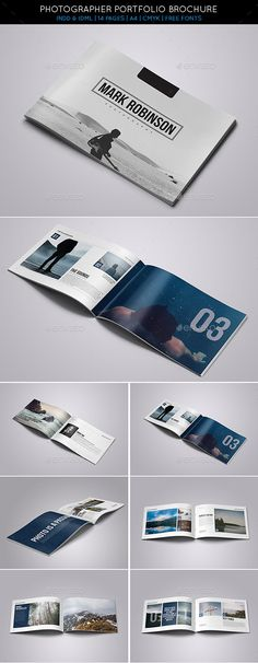 Portfolio Brochure Template #design Download: http://graphicriver.net/item/portfolio-brochure-vol2/9914002?ref=ksioks