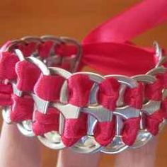 Ever wonder what you can make with your recycled pop cans? I'm sure most of us have lots them sticking around being saved up to take to the recycling...