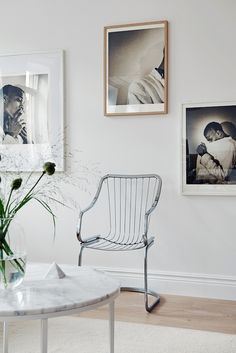 Lovely Scandinavian Interior in White (design attractor) Scandinavian Interior Design, Scandinavian Home, Inspiration Wall, Interior Inspiration, Interior Styling, Interior Decorating, My Ideal Home, Chaise Vintage, House Layouts