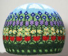 Ravelry: Think Spring! pattern by Deborah Tomasello #knit