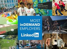 Adobe listed no. 37 out of LinkedIn's top 100 most inDemand employers worldwide.