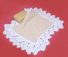 Lacy Lady Washcloth.....I am SO going to make this one...almost to pretty to use for dishes though!