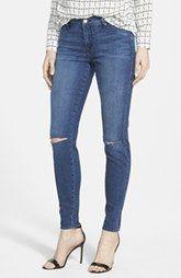 CJ by Cookie Johnson 'Joy' Slit Knee Stretch Skinny Jeans (Carly)