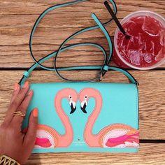Flamingo Cali Clutch by Kate Spade New York