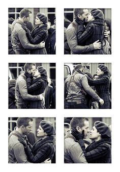 Josh Dallas & Ginnifer Goodwin filming Once Upon A Time (December 10 2012)