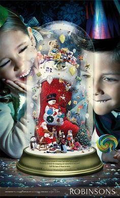 Christmas Nostalgia at Robinsons on Behance