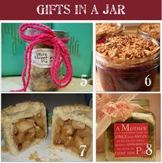 48 Homemade Gifts in a Jar. Homemade gifts in a jar is an easy and inexpensive way to make homemade gifts! Simply layer the ingredients for any of these recipes in a jar, add a ribbon and a tag, and you have a simple but stylish gift. Voila! Here are 48 homemade gifts in a jar complete with recipes and lots of pictures so you can make them at home for your friends and family.