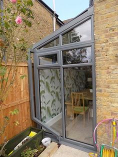 lean to conservatory side return Lean To Conservatory, Conservatory Extension, Conservatory Ideas, Terrace Ideas, Side Extension, Glass Extension, Extension Google, Extension Ideas, Garden Room Extensions