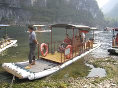 Guilin, Round Two Pvc Pipe Projects, Boat Projects, Cool Boats, Small Boats, Tube Pvc, Boat Pics, Shanty Boat, Diy Boat, Pontoon Boat