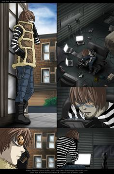 Matt, Death Note.