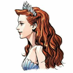 Disney Princess Heroine - Queen Athena - The Little Mermaid