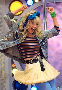 Robin Sparkles. How I Met Your Mother~  similar outfit for our 80's theme  Halloween party!