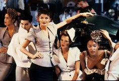 Le défilé John Galliano printemps-été 1995