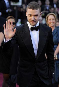 Justin Timberlake 2011 Oscars, Academy Awards #celebrities #celebrityfashion #redcarpet