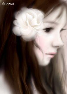 Enakei White Flower