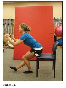 Gluteus med eccentric exercises | Physiotherapy and recovery