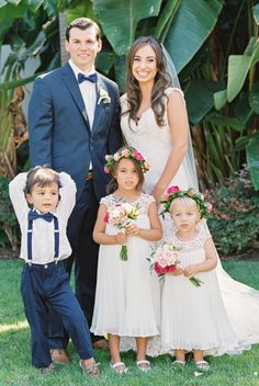 The cutest little ones: http://www.stylemepretty.com/california-weddings/goleta/2016/05/03/first-they-designed-her-engagement-ring-then-they-designed-their-dream-wedding/ | Photography: Michael + Anna Costa - http://michaelandannacosta.com/