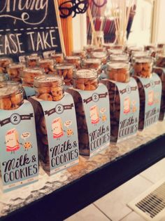 Milk and Cookies Birthday Party