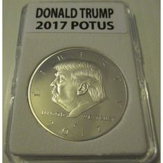 2017 Donald Trump POTUS Uncirculated Coin in Slab Listing in the Novelty,USA,Coins,Coins & Banknotes Category on eBid United States | 162991877