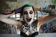 "Awesome Rule 63 Jared Leto ""Joker"" Cosplay — Lifted Geek"