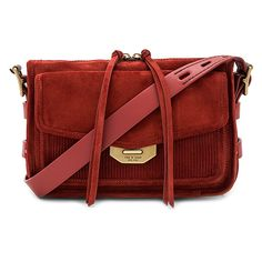 Rag & Bone Small Bomber Messenger (6.625.860 IDR) ❤ liked on Polyvore featuring bags, messenger bags, handbags, purses, red messenger bag, suede messenger bag, pocket bag and zip top messenger bag