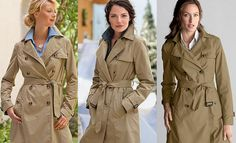 Own. Eddie Bauer classic trench coat!
