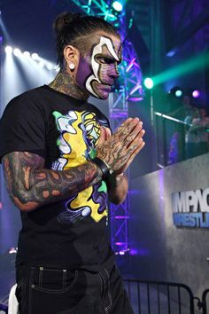 Jeff Hardy Face Paint | Categories: Jeff Hardy Tags: