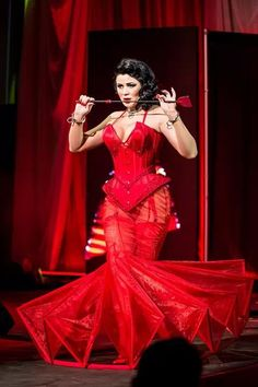 Burlesque Act. Photo ©Jo Gorski.