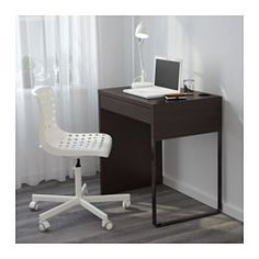 Schreibtisch ikea mikael  KULLABERG Schreibtisch, Kiefer, schwarz | Desks, Pine and Apartments