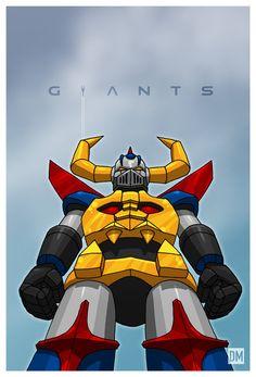 Giant - Gaiking by DanielMead on deviantART
