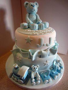 JJ's Christening Cake