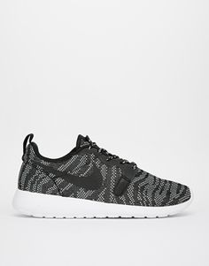 af83f461029e Nike Roshe Run Jacquard Trainers at asos.com