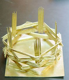 Fourth Grade Art Lesson 17 | Building Toothpick Sculptures