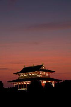 Daigokuden Palace, Nara, Japan 大極殿