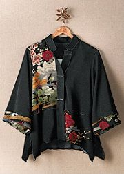 .use the idea of assymetry for a quilted jacket