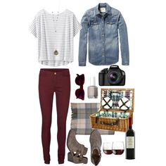 Cute outfit for a fall picnic