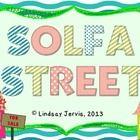 Solfa Street: Slides and Bulletin Board Printables