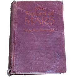The Warlord of Mars Edgar Rice Burroughs September 1919. - SOLD!